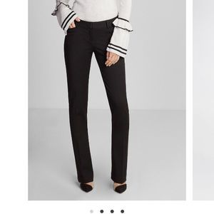 Express low rise skinny boot columnist pants
